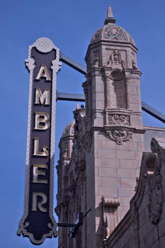 Ambler Theatre Sign